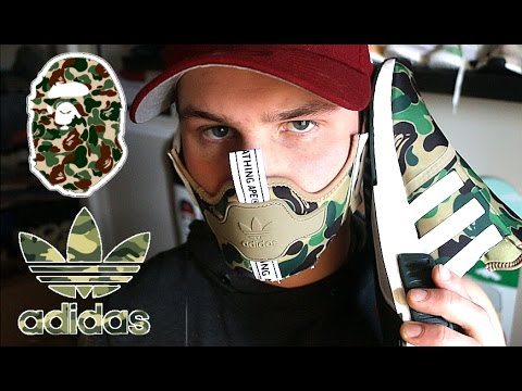 MAKING THE ADIDAS BAPE NMD SNEAKER MASK!!!