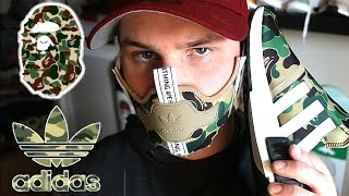 making the adidas bape nmd sneaker mask