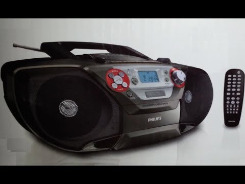 PHILIPS Soundmachine AZ5740 (CD-DVD-MP3-Radio-Casete) (Unboxing)