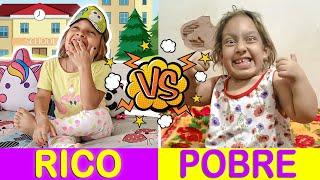 Rico VS Pobre (ft Gatinha Das Artes) - MC Divertida