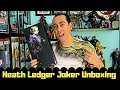 Heath Ledger Joker Unboxing Fire A001