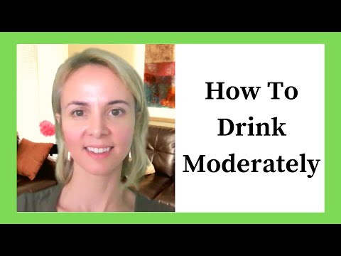 How to Drink Moderately + Mindfully