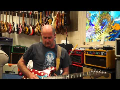 Henry Kaiser - blues rock soloing with Red Panda Particle