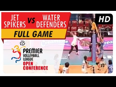 Jet Spikers vs. Water Defenders   WV Full Game   1st Set   PVL Open Conference   July 16, 2017