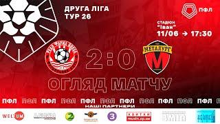 26 тур. ФК Реал Фарма - МФК Металург 2-0. ОГЛЯД МАТЧУ. 11.06.21