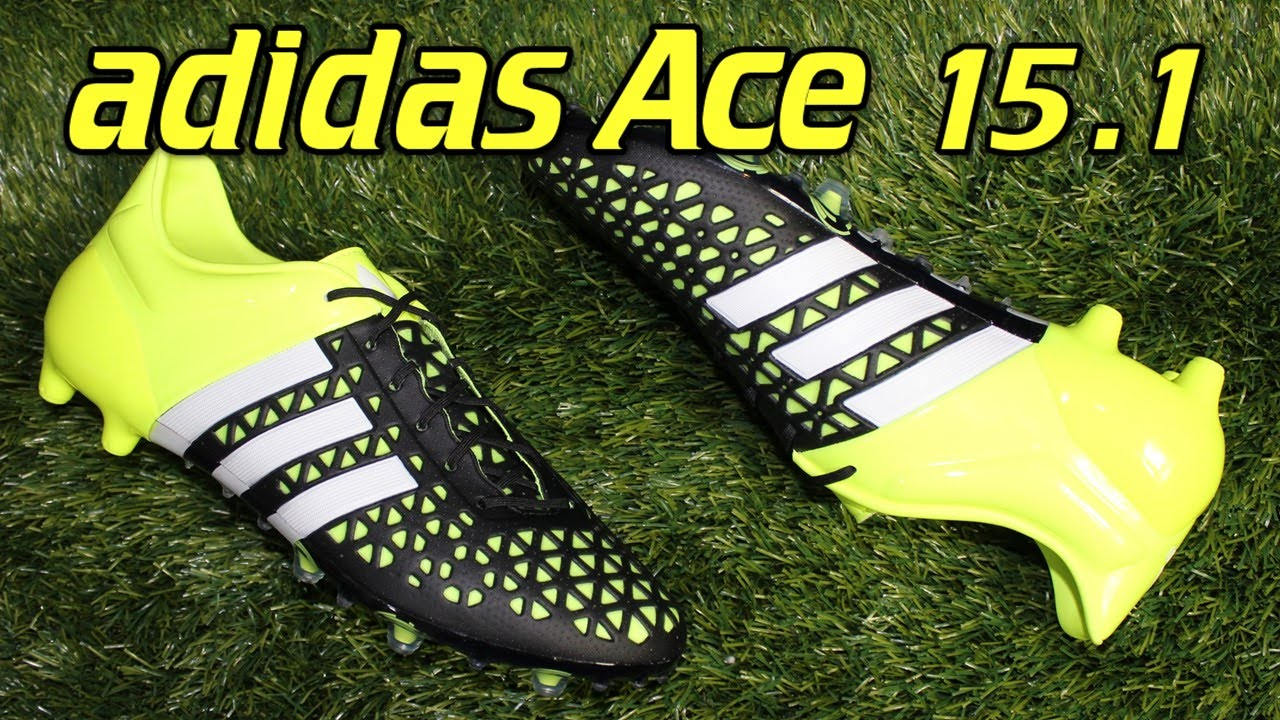 los angeles 2960b 3da2e Adidas ACE 15.1 Black/Solar Yellow - Review + On Feet