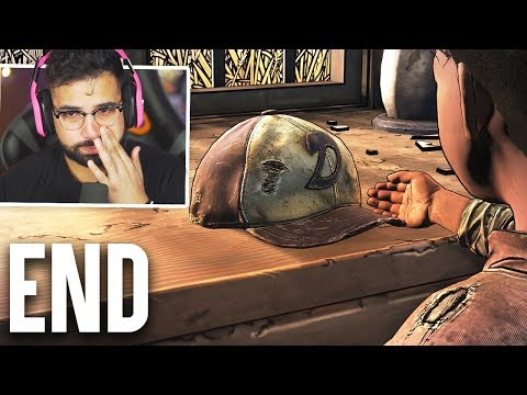 I CANT STOP CRYING   The Walking Dead The Final Season Episode 4 - ENDING