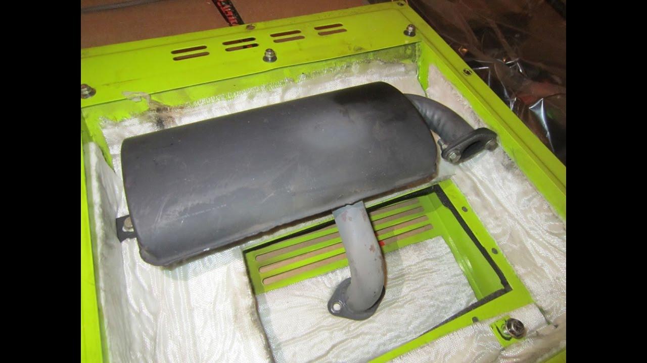 Глушитель для дизельного генератора Dalgakiran 7000