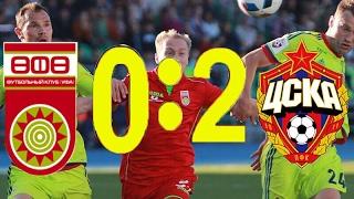 Уфа 0-2 ЦСКА HD обзор матча РФПЛ 24 тур
