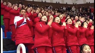 Самая яркая группа поддержки на Олимпиаде — из КНДР
