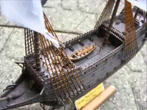 Homemade Pirate Ship Model 111