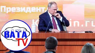 Как Путин терялся, путался и находился