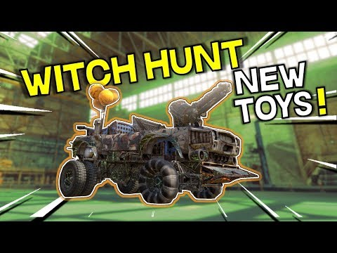 Witch Hunt Even Test Server First Look -- Crossout
