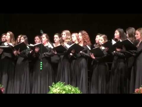 CEntral bucks high school south spring concert womens ensemblr