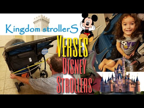 DISNEY STROLLER RULES | WHY YOU NEED TO RENT A STROLLER | KINGDOM STROLLERS REVIEW