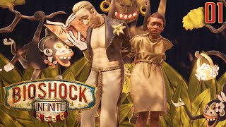 "Bioshock Infinite Gameplay Walkthrough Part 1 - ""WOW SURPRISE RACISM!!!"" 1080p HD PC"