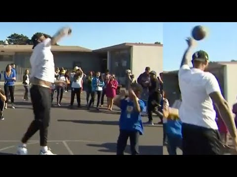 DeMarcus Cousins PUNKS Little Kids On Basketball Court!