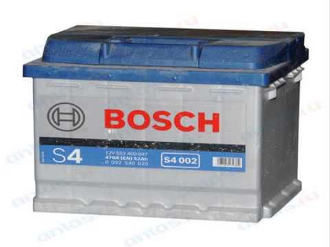Аккумулятор BOSCH S4 Silver 95 Ah - YouTube