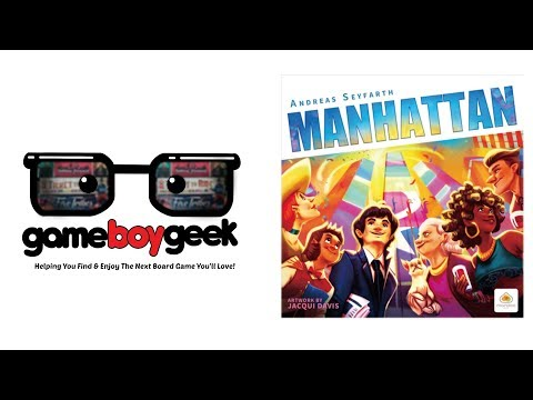 Manhattan Review with the Game Boy Geek