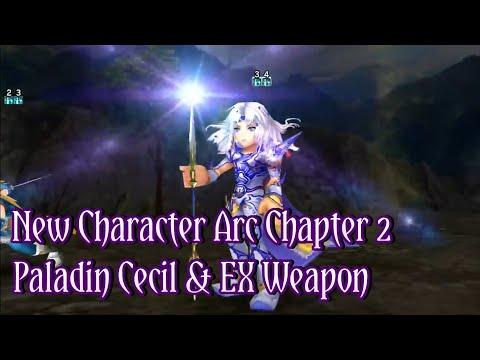 [DFFOO]New Chapter Arc And New Character Paladin Cecil