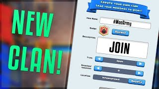 MY NEW CLASH ROYALE CLAN For EVERYONE To Join | Clash Royale