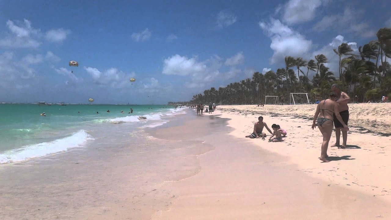 Riu Palace Punta Cana 2017 View Of The Beach