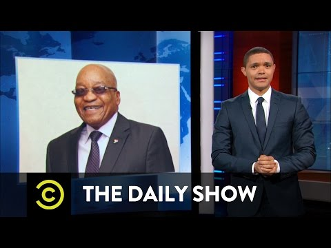 South African President Jacob Zuma & The Panama Papers: The Daily Show