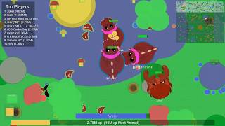 Mope io Legendary T Rex King Crab And other Animal Trolling & some glitch