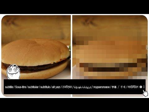 Den McDonalds Hamburger für NUR 1 EUR besser machen - GEHT DAS?
