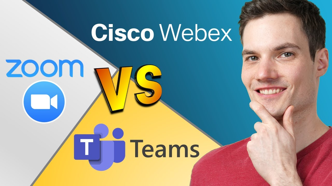Zoom vs. Teams vs. Webex: Who is the BEST?
