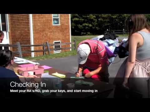 Stonehill College Move In Day