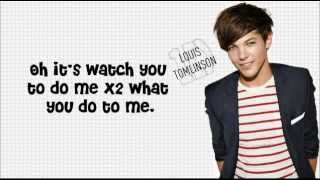 Hey There Delilah - Louis Tomlinson (lyrics, X-Factor Audition)