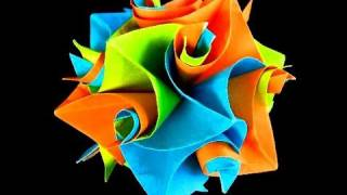 How To Make An Origami Cuboctahedron From Curler Units