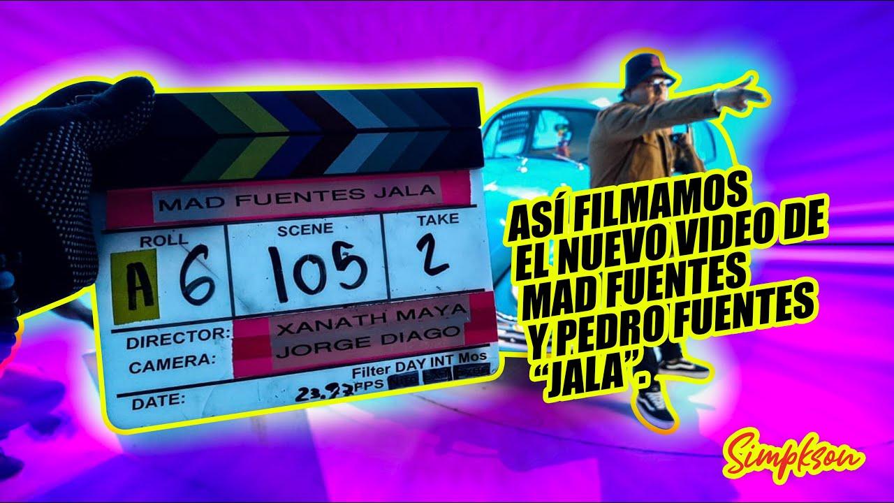 Filmamos el nuevo video de MAD FUENTES y PEDRO FUENTES - JALA