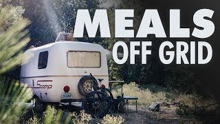 5 Days of OFF-GRID HeaĮthy Meals // Tenkara Fly Fishing // 13ft Scamp Trailer