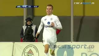 Gaz Metan vs  FC Voluntari | Darius Olaru deschide scorul pentru Mediaș