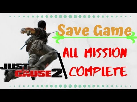 Just Cause 2  Save Game  Download