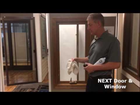 How to Clean Infinity Casement Windows