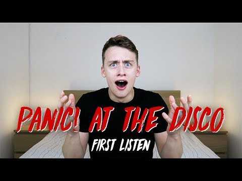 Listening to PANIC! AT THE DISCO for the FIRST TIME | Reaction