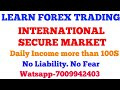 Learn Forex International Trading (Part 1) absolutely free and earn 100$ everyday