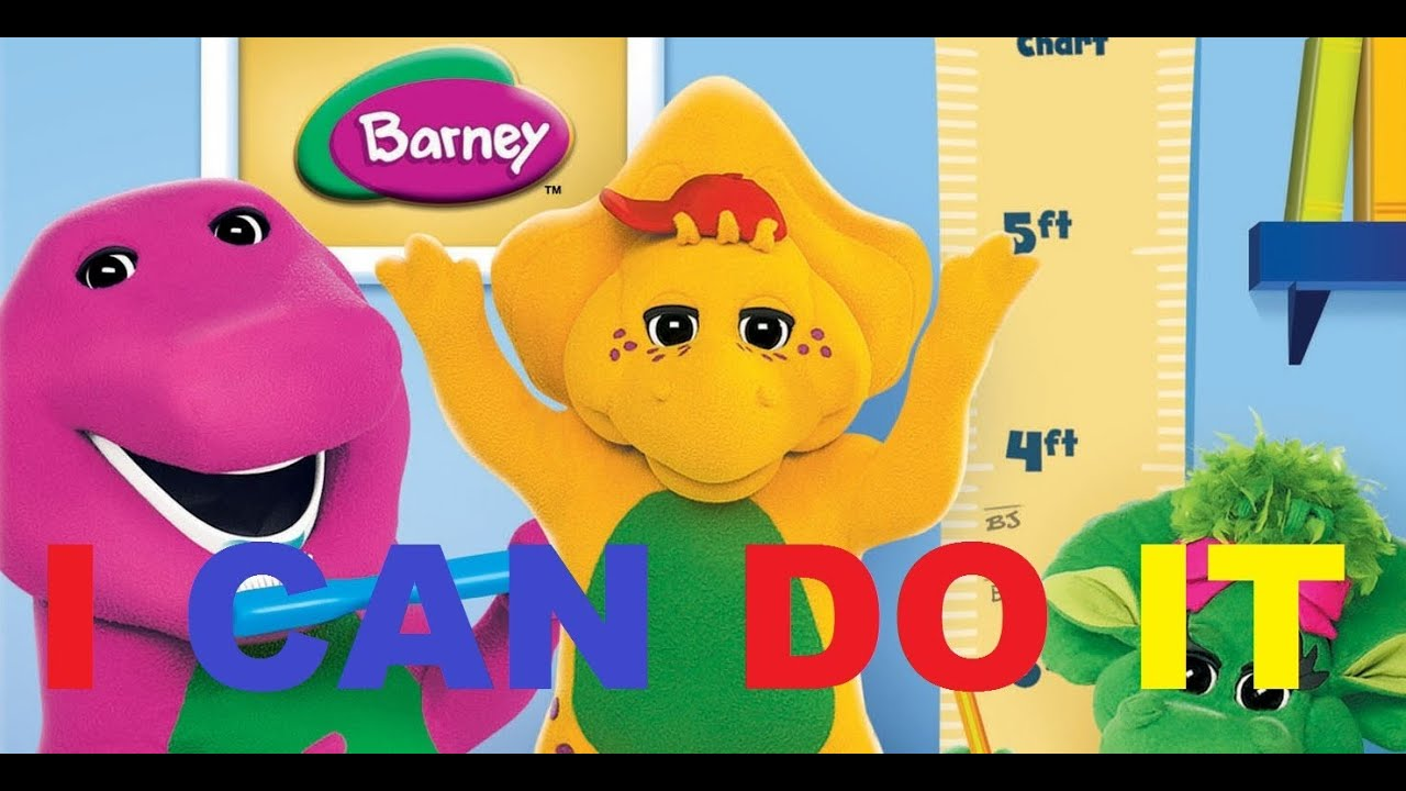 Barney - I Can Do It - YouTube