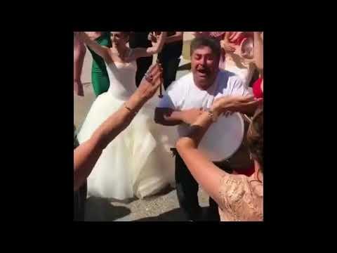Веселые свадебные танцы и песни на Армянской свадьбе в Ереване 2017