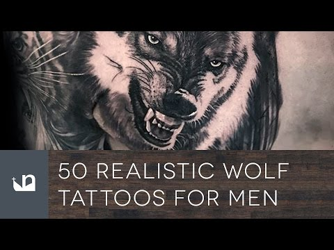50 Realistic Wolf Tattoos For Men