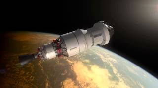 Orion: Exploration Flight Test-1 Animation (no narration)
