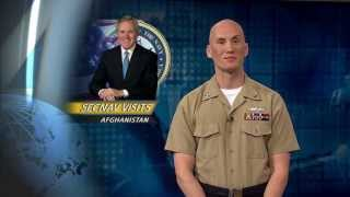 Secretary of the Navy Visits Afghanistan, Discusses Importance of Mission