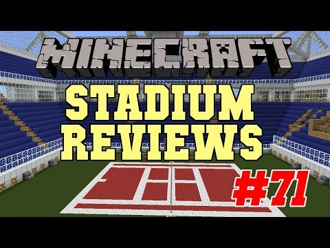 Minecraft Stadium Reviews - EP71 - Tigerpilot25's Tennis Court