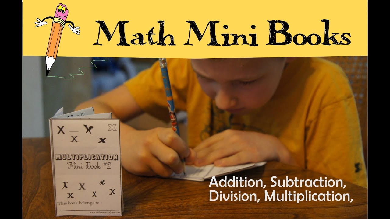 Math Mini Books - YouTube