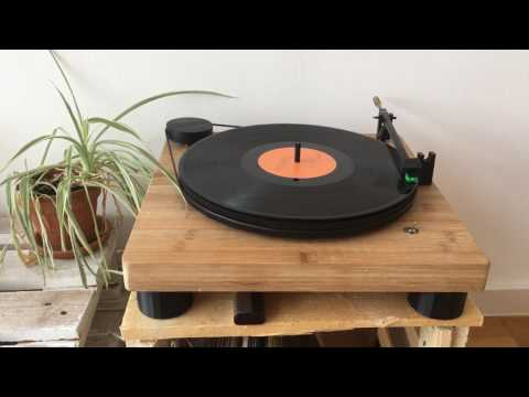 Raspberry Pi-based Record Player