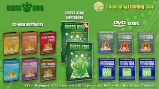 Chess King Training Software and DVD Products Description