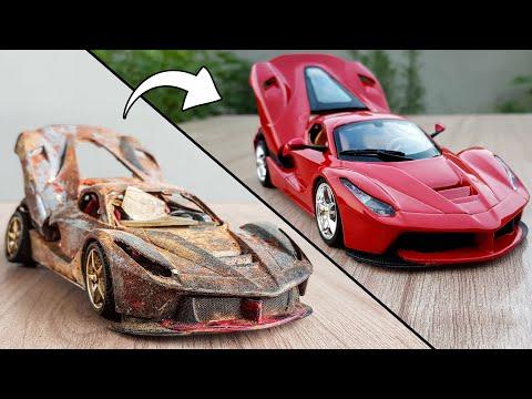 Ferrari LaFerrari SuperCar Model Restoration